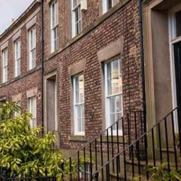 A terrace of houses. IHT and insurance
